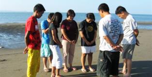 Water Baptism: Zone 8 Calumpang